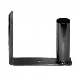 Wandhalterung Stahl U-Form, 15x11cm