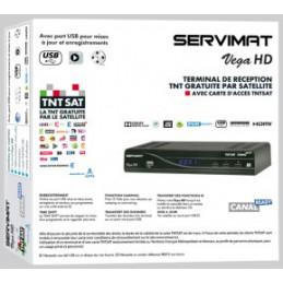 Récépteur HD + TNT France Servimat VEGA