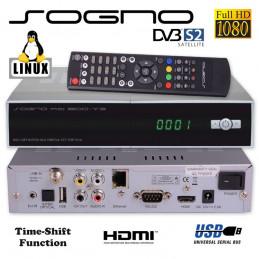SOGNO HD800 V3 Linux HDTV Satelliten Receiver mit Kartenleser und CI - Schacht, Mediaplayer, Netzwerkstreamer