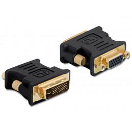 DeLock DVI - VGA Adapter, (m-f)