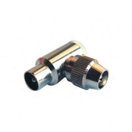 Stecker gebogene Metall
