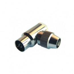 IEC Buchse gebogene Metall