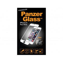 Weißer Panzerglass Displayschutz iPhone 6+ / 6s+