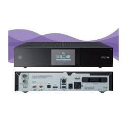 VU+ Solo 4K 2x DVB-S2 und 1x DVB-C/T2