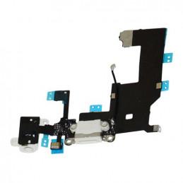 iPhone 5S Audio Flex / Lightning Dock Connector Flex + Mikrofon - Weiss