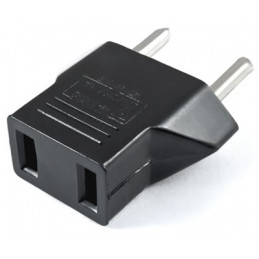 US to Euro Conversion Plug Adapter American European Travel Adapter Charger