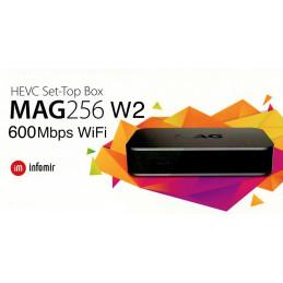 MAG256w2 IPTV SET-TOP BOX - 600Mbps Wlan