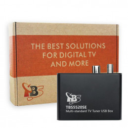 TBS5520SE DVB-S2/S/S2X/T/T2/C/C2 Single-Tuner, USB Multituner Empfangsbox
