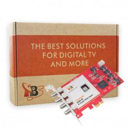 TBS6909 DVB-S2/-S Octa-Tuner, PCIe Satelliten-TV-Karte