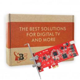 TBS6983 Professional DVB-S2 Dual Tuner PCIe Card