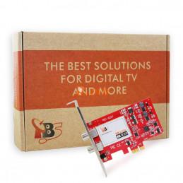 TBS6221 DVB-T2/T/C TV Tuner PCIe Card