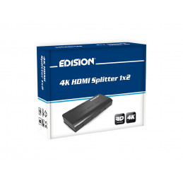 4K HDMI Splitter 1×2