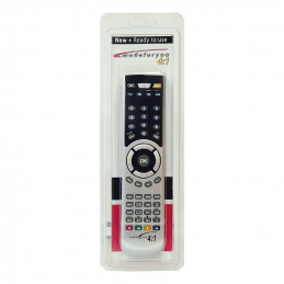REMOTE CONTROL MADE FOR YOU 7001 SILVER 4:1