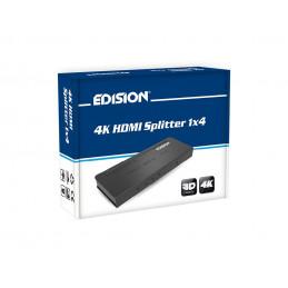 4K HDMI Splitter 1x4