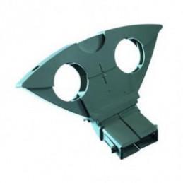 Multifeedhalter 6° Duo Block für TDA Triax Schwarz