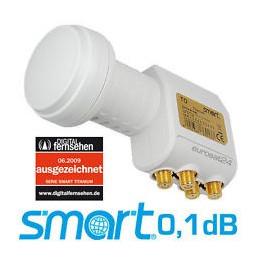 Smart Titanium Edition TQ Quattro Universal 0.1 dB LNB