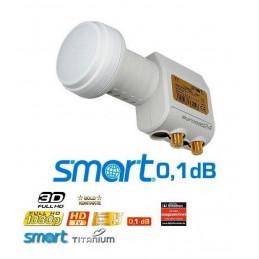 Smart Titanium Edition TT Twin Universal 0.1 dB LNB