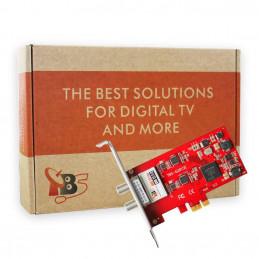 TBS6281SE DVB-T2/T/C TV Tuner PCIe Card