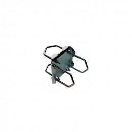 Stabile Kreuzschelle für Rohre bis Ø 60 mm