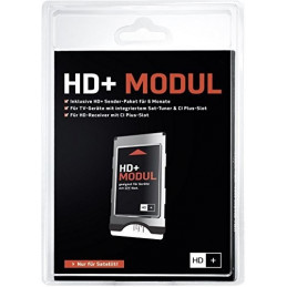CI+ Modul inkl. HD+ Karte für 12 Monate HD+ Programme