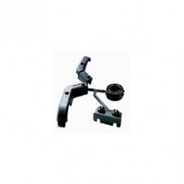 LNB Adapter 23/40mm + Feedhalter zu Triax Parabolspiegeln schwarz
