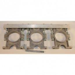 Universal Multifeedhalterung 3-fach aus Aluminium