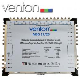 Venton MSG 17/20 Multischalter,Grundeinheit,Portlock, Single/Twin/Quad/Octo-fähig