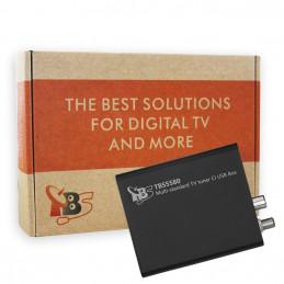 TBS5580 DVB-S2/S/S2X/T/T2/C/C2 Single-Tuner mit CI, USB Multituner Empfangsbox