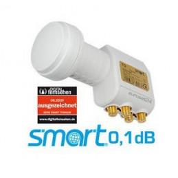 Smart Titanium Edition TQS Quad Universal 0.1 dB LNB