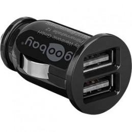USB-Ladegerät, 5 V, 3100 mA, Kfz, 2 USB-Ports
