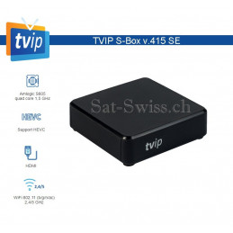 TVIP V.415 S-BOX WiFi 802.11 (b/g/n/ac) 2,4/5 GHz
