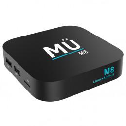 MÜ M8 4K Full UHD + H.2652GB RAM 16GB Flash Memory
