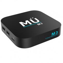 MÜ M3 4K Full UHD + H.265 1GB RAM 8GB Flash Memory
