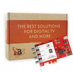 TBS6522 Multi-standard Dual Tuner PCI-e Card