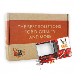 TBS6590 Multi Standard Dual Tuner Dual CI PCI-e Card