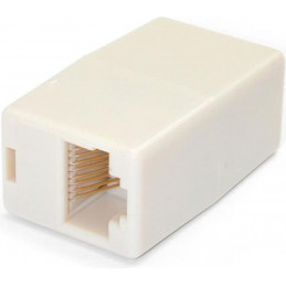 Ethernet Doppelkupplung ungeschirmt