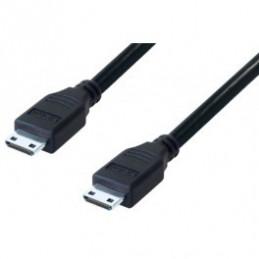 HDMI-Ministecker - HDMI-Ministecker 5,0 Meter schwarz High Speed (Version 1.3b)