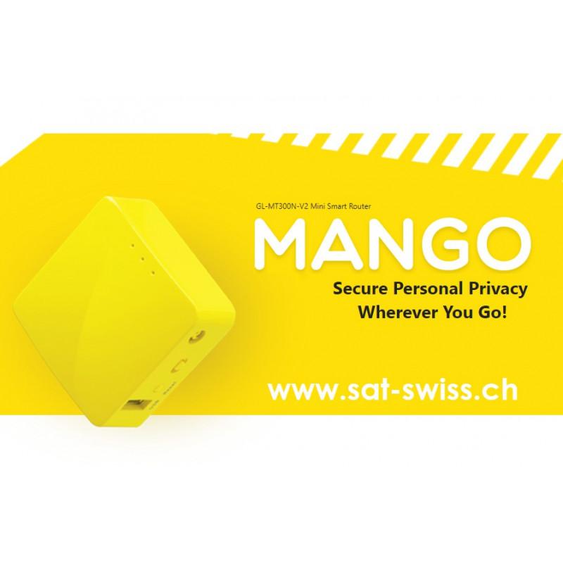 VPN Router GL.iNet GL-MT300N-V2 (Mango)