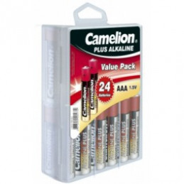 Camelion Plus Alkaline Batterie Micro AAA R03 24er Box