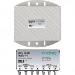 SEqC-Schalter Axing SPU 52-00 5 (4 SAT/1 terrestrisch) 2