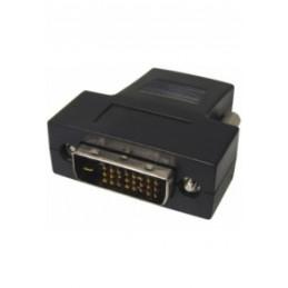 Adapter DVI Stecker 18+1p auf HDMI Kupplung 19 pol.
