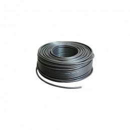 Retail Kabel  Koax 7mm ,90dB, schwarz, Meteraufdruck ( pro meter)