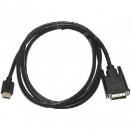 DVI zu HDMI (24+1)Full HD Kabel 2M