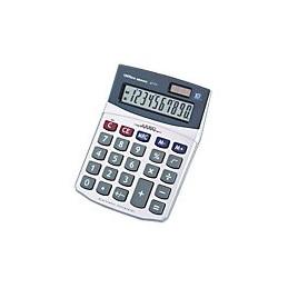 Office Depot Tischrechner AT-711 11.8 x 15.6 x 3.9 cm Silber